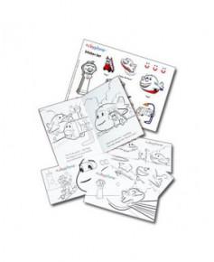 Livre de coloriage et stickers