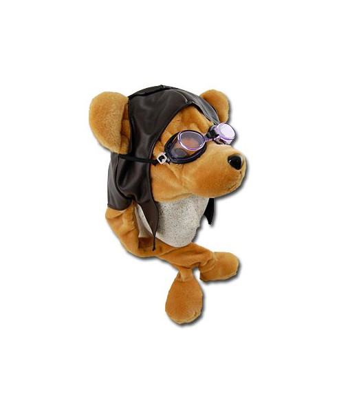 Serre-tête ourson aviateur