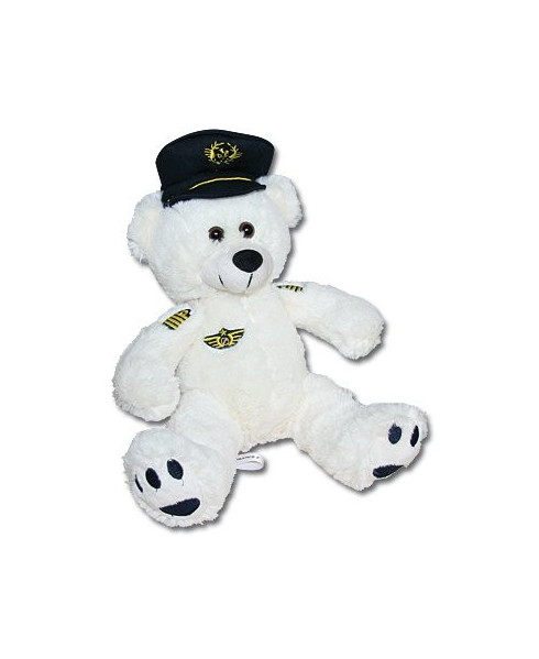 Peluche ourson pilote Air France