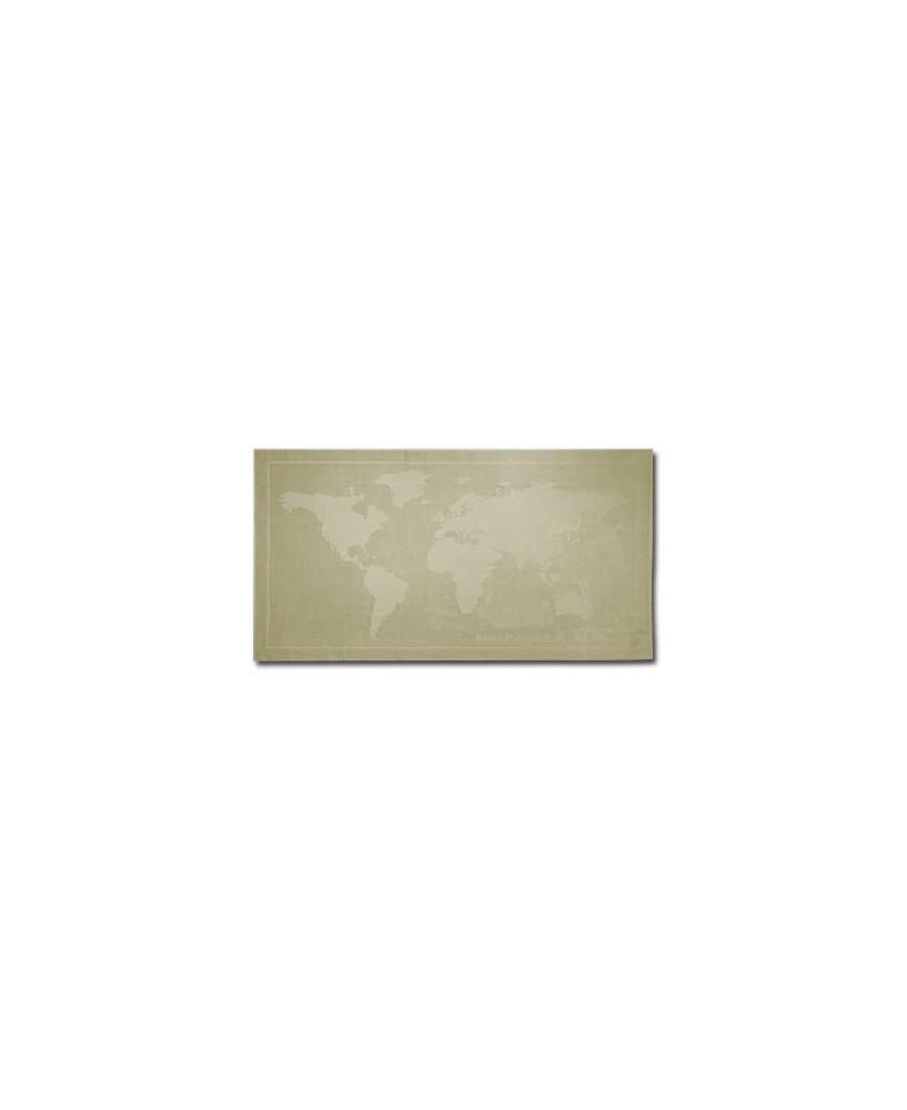 Drap de bain Air France K.L.M. beige