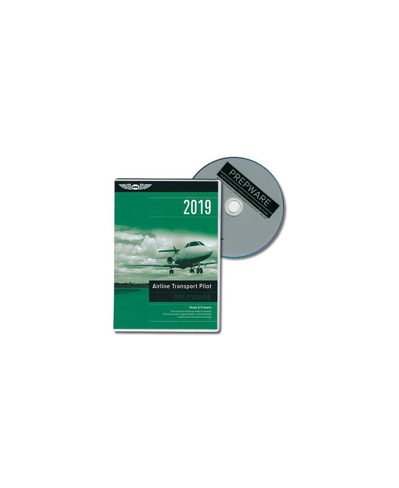 D.V.D.-ROM Airline Transport Pilot Prepware 2019
