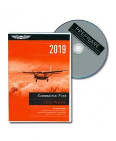 D.V.D.-ROM Commercial Pilot Prepware 2019