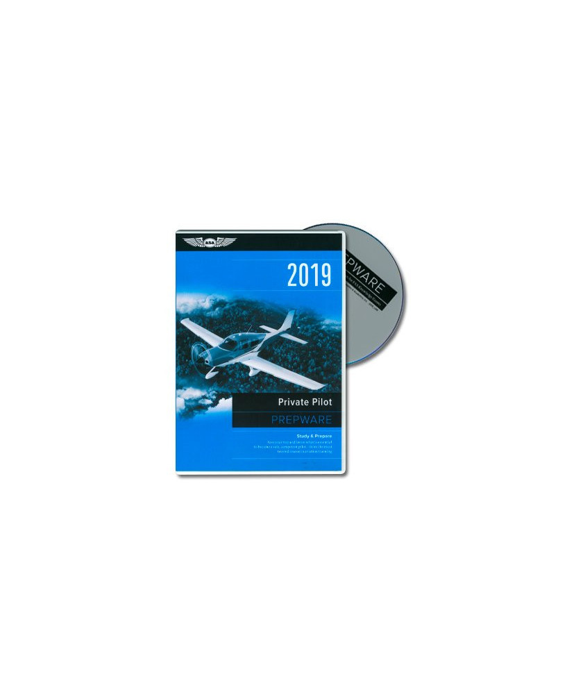 D.V.D.-ROM Private Pilot Prepware 2019