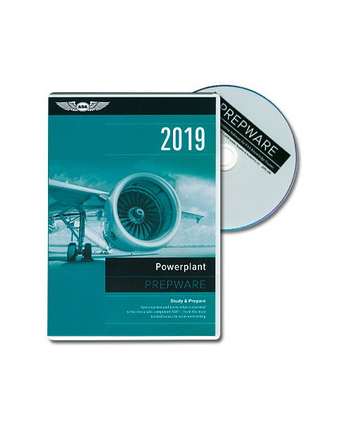 D.V.D.-ROM A.M.T. Powerplant Prepware 2019