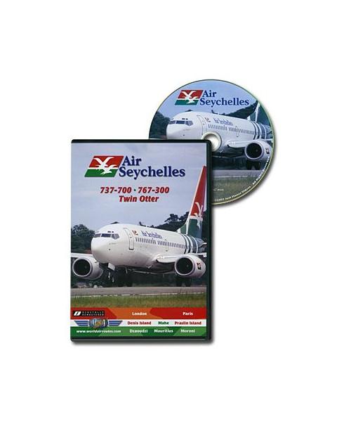 D.V.D. World Air Routes - Air Seychelles 737 767 Twin Otter