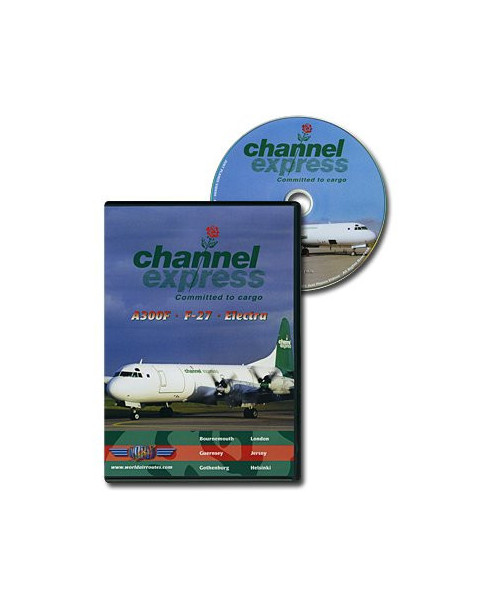 D.V.D. World Air Routes - Channel Express A300F F27 Electra