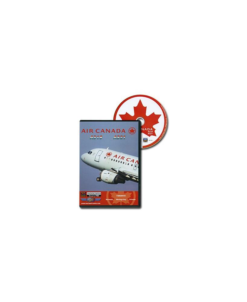 D.V.D. World Air Routes - Air Canada A319 A321