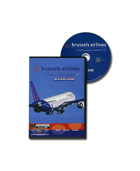 D.V.D. World Air Routes - Brussels Airlines A330
