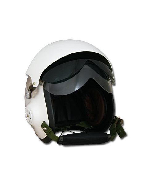 Casque pilote MiG-2V blanc - Taille L