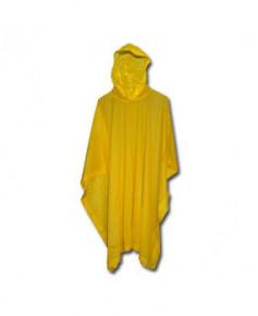 Poncho jaune - Taille unique