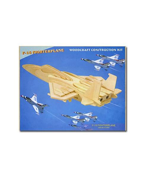 Petit avion en bois à monter - F15