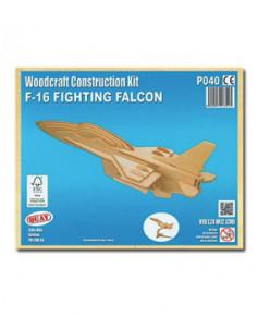 Petit avion en bois à monter - F16