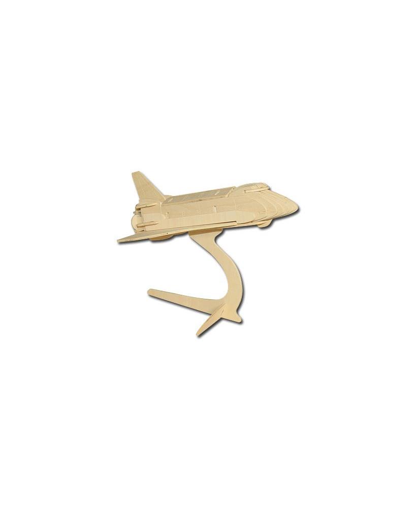 Navette spatiale en bois à monter