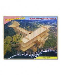 Petit avion en bois à monter - Triplan