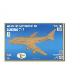 Petit avion en bois à monter - Boeing 747