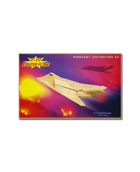 Petit avion en bois à monter - F117