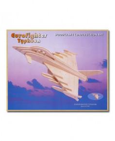 Petit avion en bois à monter - Eurofighter