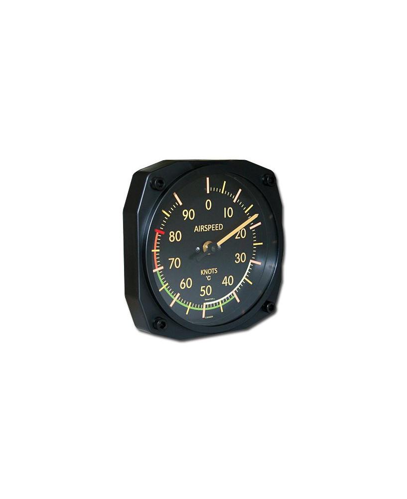Thermomètre anémomètre ancien