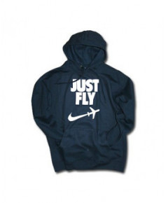Sweat-shirt avec capuche Just fly - Taille L