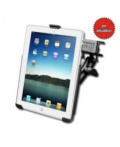 Attache tableau de bord pour iPad