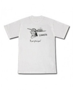 Tee-shirt Fly Dakota blanc - Taille L