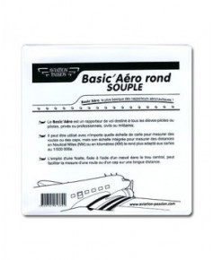 Basic'Aéro rond souple (1 mm) Aviation Passion