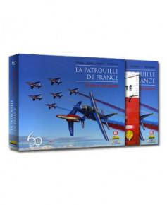 Coffret avec insigne et certificat : La Patrouille de France - 60 ans à ciel ouvert