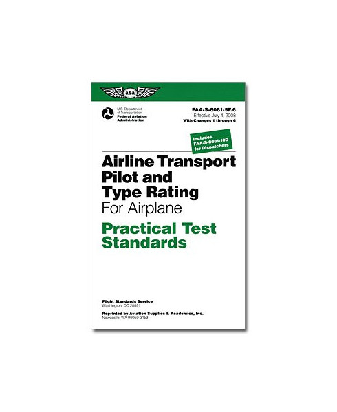 Practical Test Standards - Airline Transport Pilot & Type Rating - Airplane
