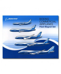 Magnets famille Boeing