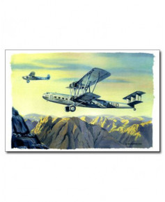 Carte postale Benjamin FREUDENTHAL - HP42 Hanno au-dessus du Sinaï