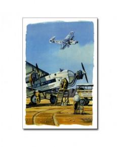Carte postale Benjamin FREUDENTHAL - Armstrong Witworth Argosy en Jordanie