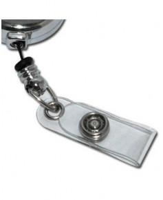 Tour de cou Porte badge Boeing avec zip enrouleur