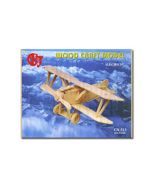 Petit avion en bois à monter - Albatros DV