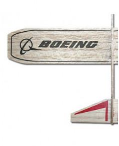 Planeur Boeing en balsa à lancer