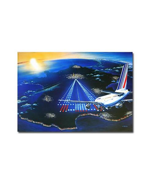 Affiche Air France, Destination France