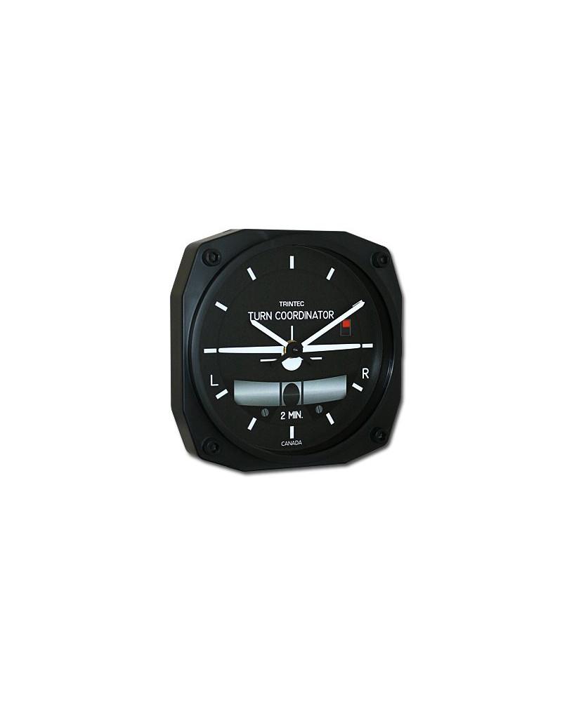 Horloge indicateur de virage avec bille