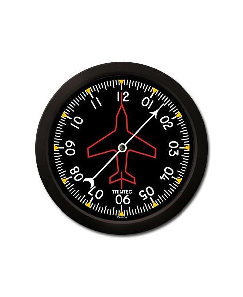 Horloge ronde gyroscope directionnel monoaiguille