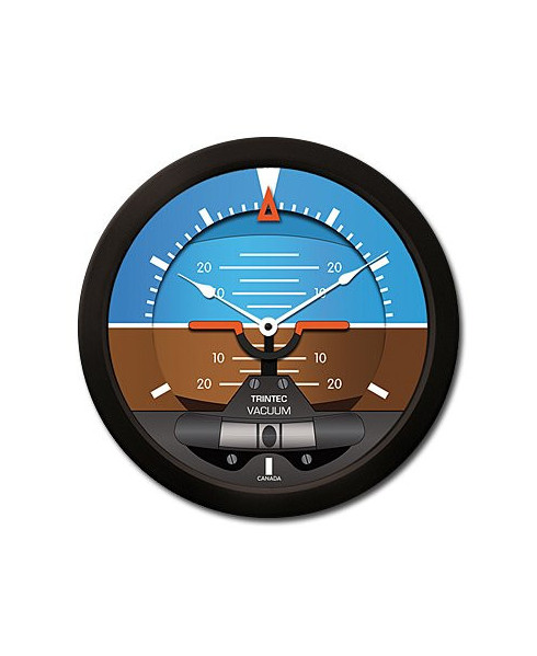 Horloge ronde horizon moderne