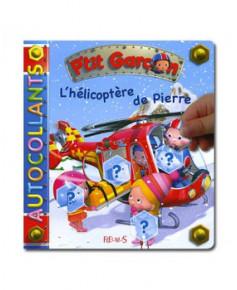 L'hélicoptère de Pierre - Autocollants