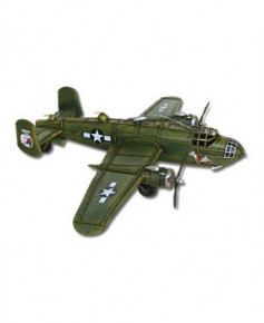 Maquette métal B25 Mitchell (vert)