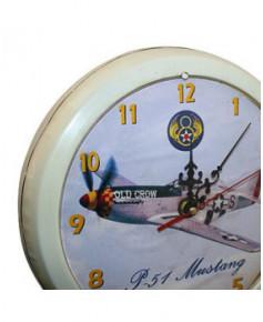 Horloge P51 Mustang sur socle