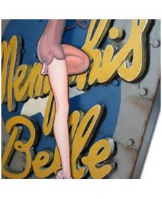 Plaque décorative Memphis Belle en 3D