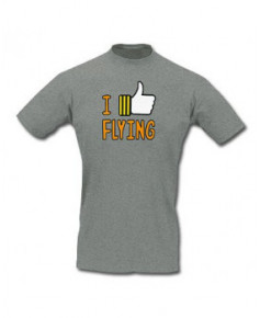 Tee-shirt I like flying - Taille L