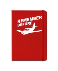 Bloc-notes Remember before flight