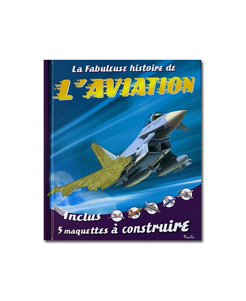 La fabuleuse histoire de l'aviation - couverture Eurofighter