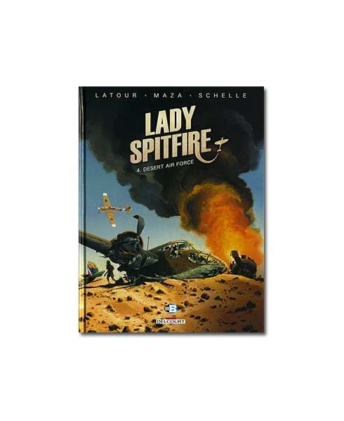 Lady Spitfire - Tome 4 : Desert Air Force