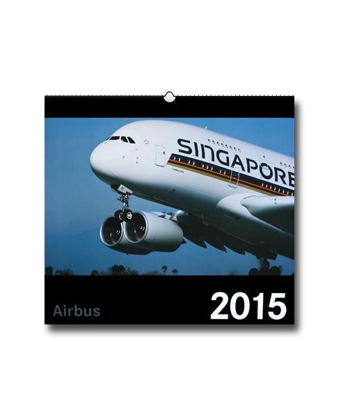 Calendrier Airbus 2015