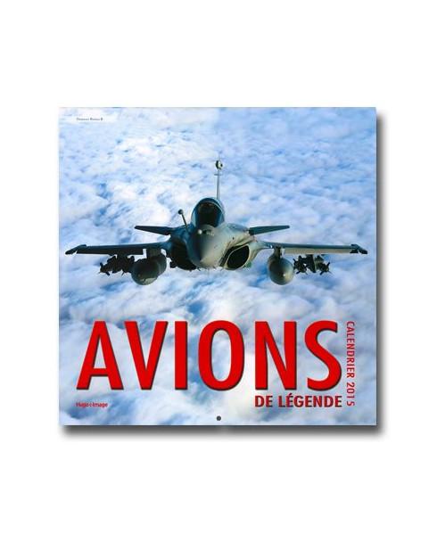 Calendrier mural Avions de légende 2015