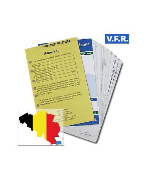 Trip kit V.F.R. Manual Belgique et Luxembourg