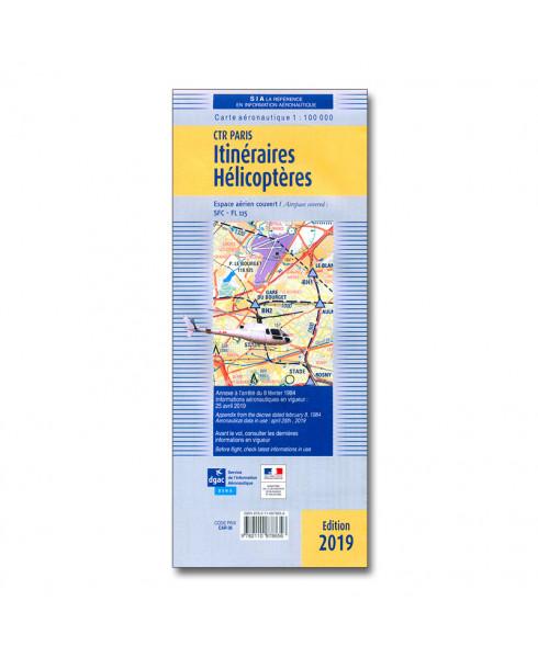 Carte Aeronautique Region Parisienne.Carte Des Itineraires Pour Helicopteres En Region Parisienne C T R 2 Et 3 S I A Avril 2019
